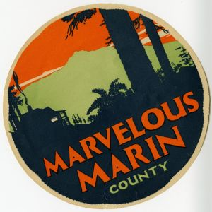 Marin County Travel Ad
