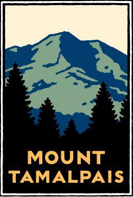 Mount Tamalpais Poster by Michael Schwab