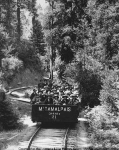 Gravity Car-Mounta Tamalpais And Muir Woods Railway-2