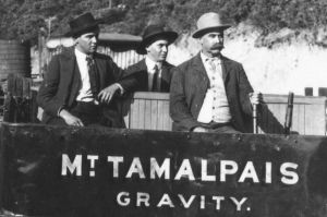 Gravity Car-Mounta Tamalpais And Muir Woods Railway