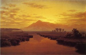 Mount Tamalpais from Napa Slough • 1869