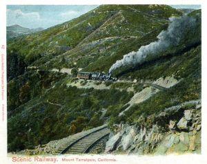 Mount Tam Postcard • Circa 1900