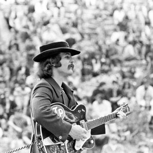 David Crosby of The Byrds @ Fantasy Fair & Magic Mountain Music Festival 1967 Mountain Theater, Mount Tamalpais