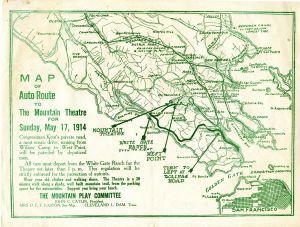1914 Mountain Theatre Auto Map